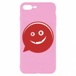 Чехол для iPhone 8 Plus Red smile