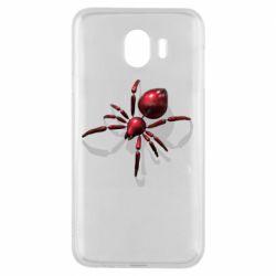Чохол для Samsung J4 Red spider