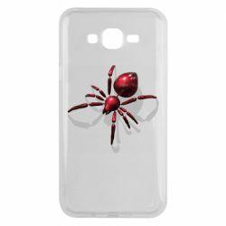 Чохол для Samsung J7 2015 Red spider