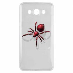 Чохол для Samsung J7 2016 Red spider