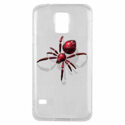 Чохол для Samsung S5 Red spider