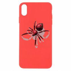 Чохол для iPhone Xs Max Red spider