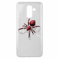 Чохол для Samsung J8 2018 Red spider