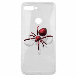 Чохол для Xiaomi Mi8 Lite Red spider