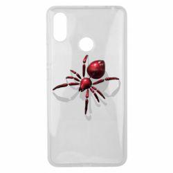 Чохол для Xiaomi Mi Max 3 Red spider