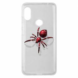 Чохол для Xiaomi Redmi Note Pro 6 Red spider