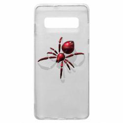 Чохол для Samsung S10+ Red spider