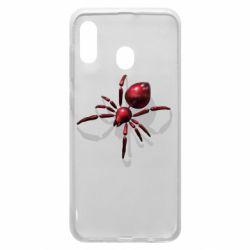 Чохол для Samsung A30 Red spider