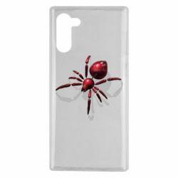 Чохол для Samsung Note 10 Red spider