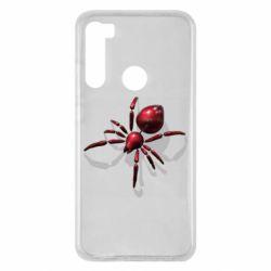 Чохол для Xiaomi Redmi Note 8 Red spider