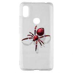 Чохол для Xiaomi Redmi S2 Red spider