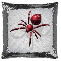 Подушка-хамелеон Red spider