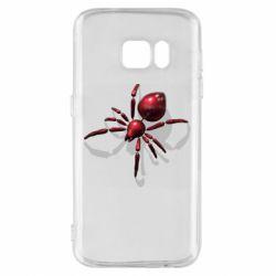 Чохол для Samsung S7 Red spider