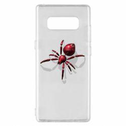 Чохол для Samsung Note 8 Red spider