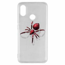 Чохол для Xiaomi Mi8 Red spider