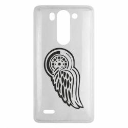 Чехол для LG G3 mini/G3s Red Wings - FatLine