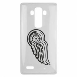Чехол для LG G4 Red Wings - FatLine