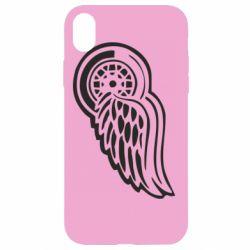 Чехол для iPhone XR Red Wings