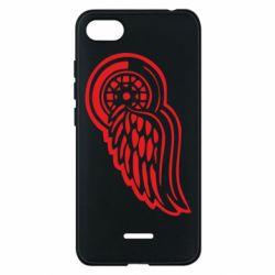Чехол для Xiaomi Redmi 6A Red Wings - FatLine