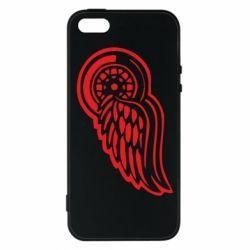 Чехол для iPhone5/5S/SE Red Wings