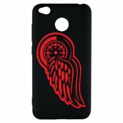 Чохол для Xiaomi Redmi 4x Red Wings