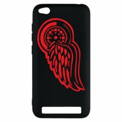Чехол для Xiaomi Redmi 5a Red Wings - FatLine