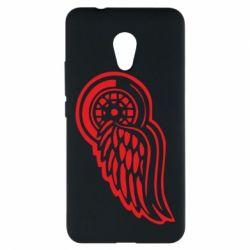 Чехол для Meizu M5s Red Wings - FatLine