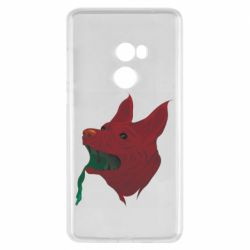 Чехол для Xiaomi Mi Mix 2 Red zombie dog