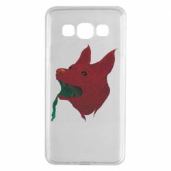 Чехол для Samsung A3 2015 Red zombie dog