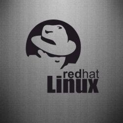 Наклейка Redhat Linux - FatLine