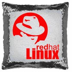Подушка-хамелеон Redhat Linux