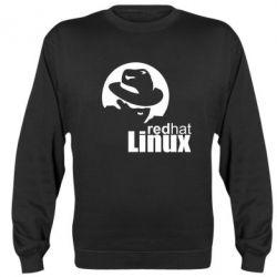 Реглан (свитшот) Redhat Linux - FatLine
