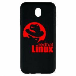 Чохол для Samsung J7 2017 Redhat Linux