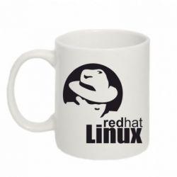 Кружка 320ml Redhat Linux - FatLine