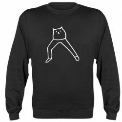 Реглан (світшот) Cat in pants