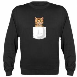 Реглан (свитшот) Cat in your pocket