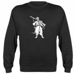 Реглан (свитшот) Cossack with a gun