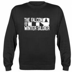 Реглан (світшот) Falcon and winter soldier logo