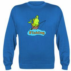 Реглан (свитшот) Fish Fishing