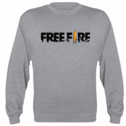 Реглан (свитшот) Free Fire spray