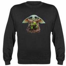 Реглан (світшот) Grogu and Kermit