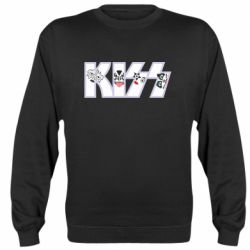 Реглан (світшот) Kiss the music band