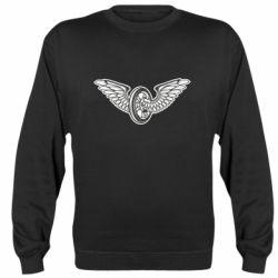 Реглан (світшот) Колесо та крила