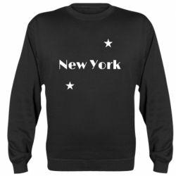 Реглан (свитшот) New York and stars