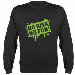 Реглан (світшот) No Risk No Fun