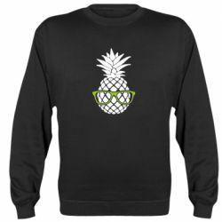 Реглан (свитшот) Pineapple with glasses