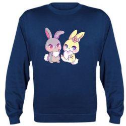 Реглан (світшот) Rabbits In Love