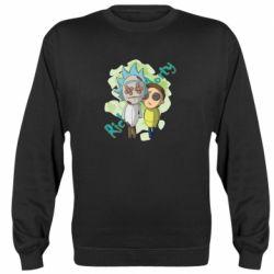 Реглан (світшот) Rick and Morty voodoo doll