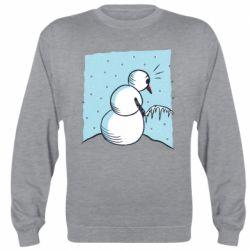 Реглан (світшот) Snowman. It's Cold!