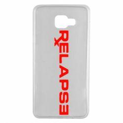 Чохол для Samsung A7 2016 Relapse Eminem